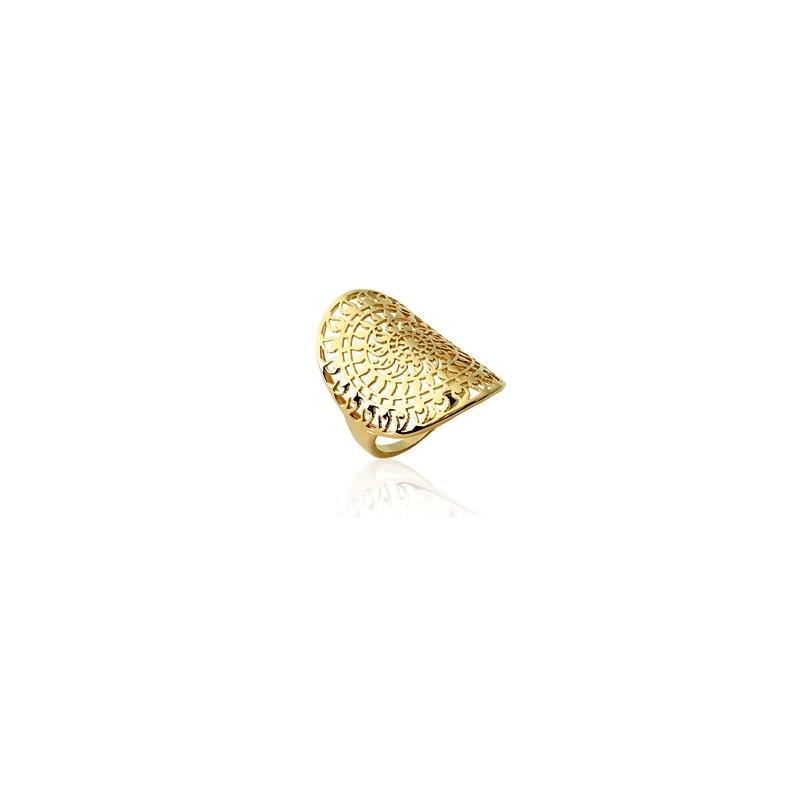 Δαχτυλίδι Brass Επίχρυσο 18Κ Oxford Street 221950