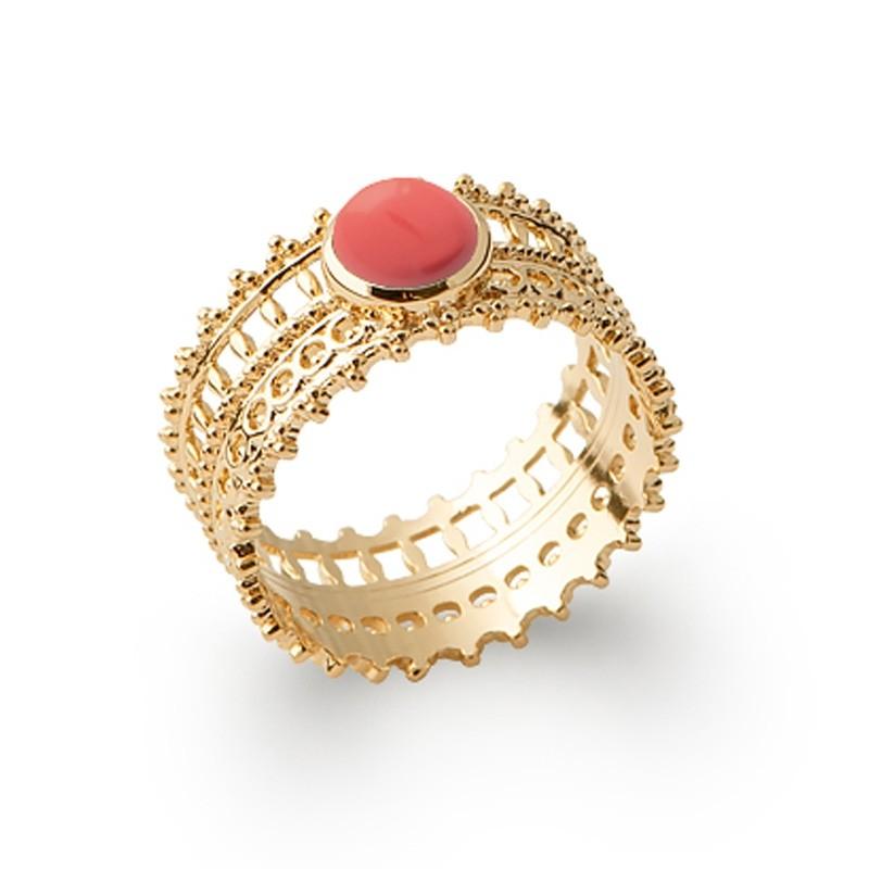 Δαχτυλίδι Brass Επίχρυσο 18Κ Oxford Street 2277520