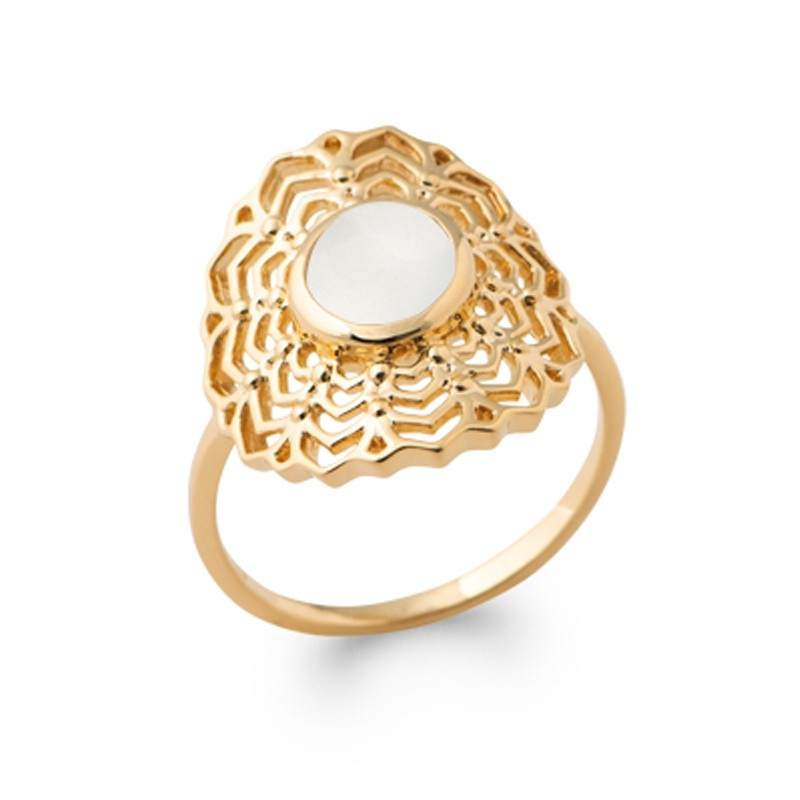 Δαχτυλίδι Brass Επίχρυσο 18Κ Oxford Street 2281510
