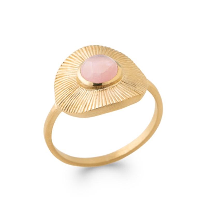 Δαχτυλίδι Brass Επίχρυσο 18Κ Oxford Street 2281680