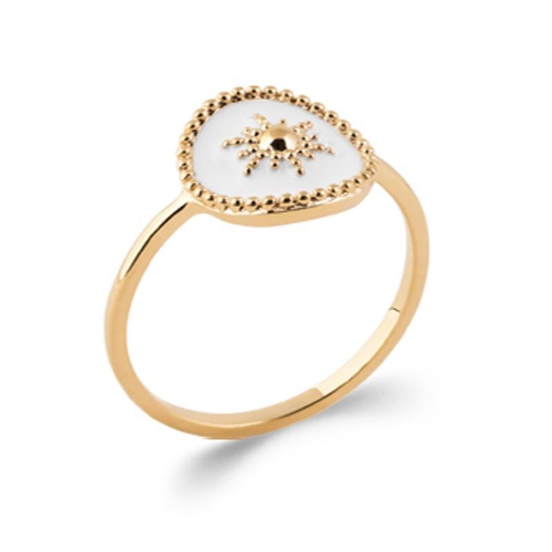 Δαχτυλίδι Brass Επίχρυσο 18Κ Oxford Street 2283510
