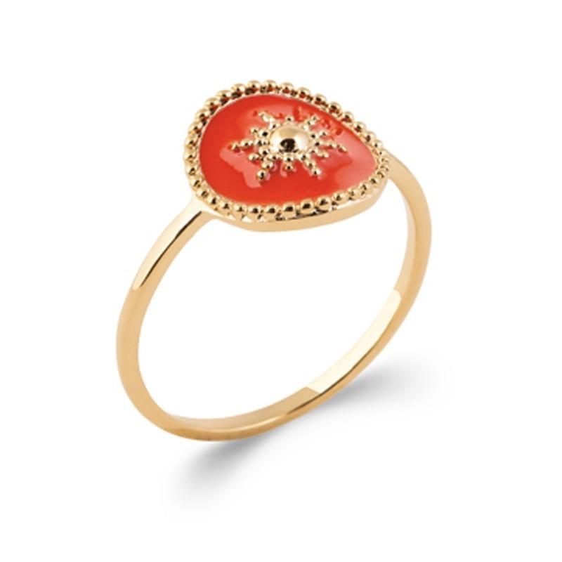 Δαχτυλίδι Brass Επίχρυσο 18Κ Oxford Street 2283520