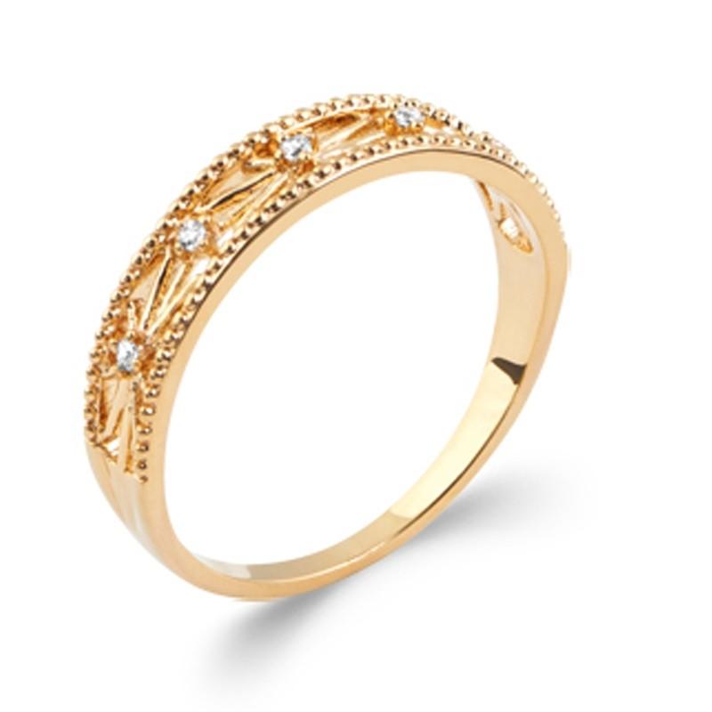 Δαχτυλίδι Brass Επίχρυσο 18Κ Oxford Street 2294110