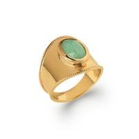 Δαχτυλίδι Brass Επίχρυσο 18Κ Oxford Street 2272450