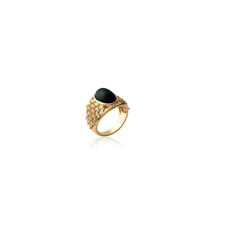 Δαχτυλίδι Brass Επίχρυσο 18Κ Oxford Street 221060