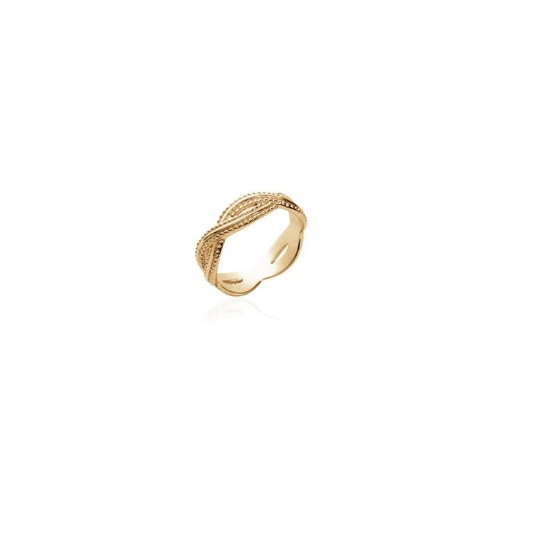 Δαχτυλίδι Brass Επίχρυσο 18Κ Oxford Street 2261500