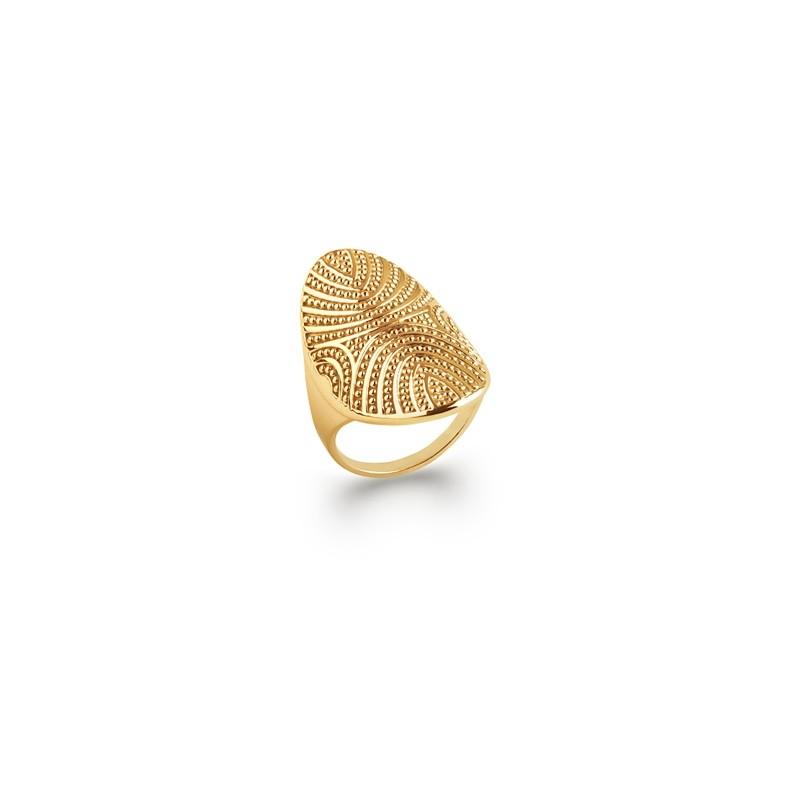 Δαχτυλίδι Brass Επίχρυσο 18Κ Oxford Street 2272900