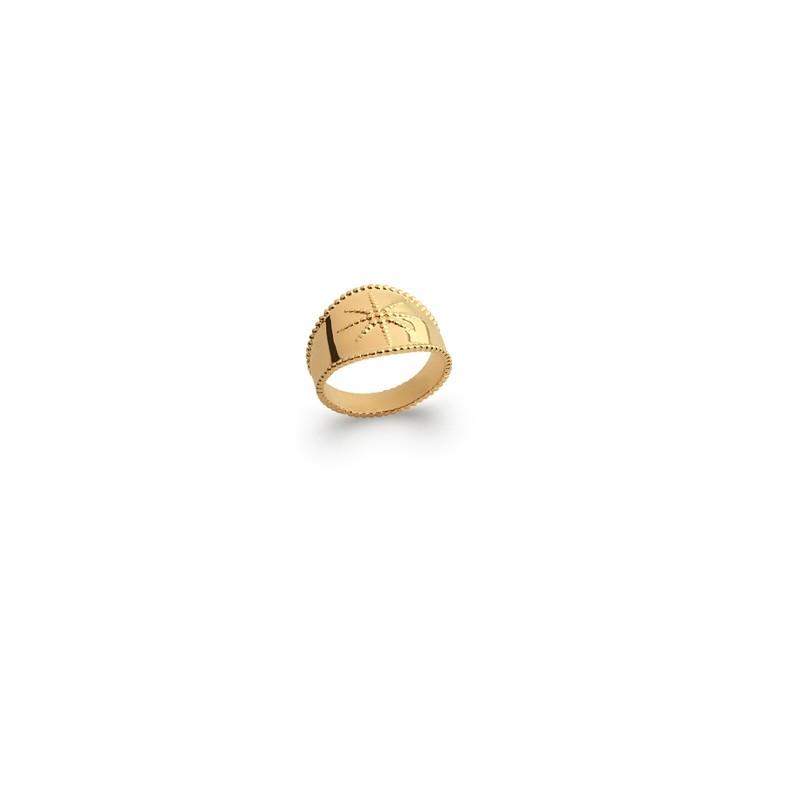 Δαχτυλίδι Brass Επίχρυσο 18Κ Oxford Street 227300