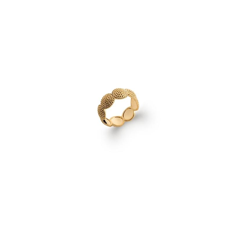 Δαχτυλίδι Brass Επίχρυσο 18Κ Oxford Street 227490