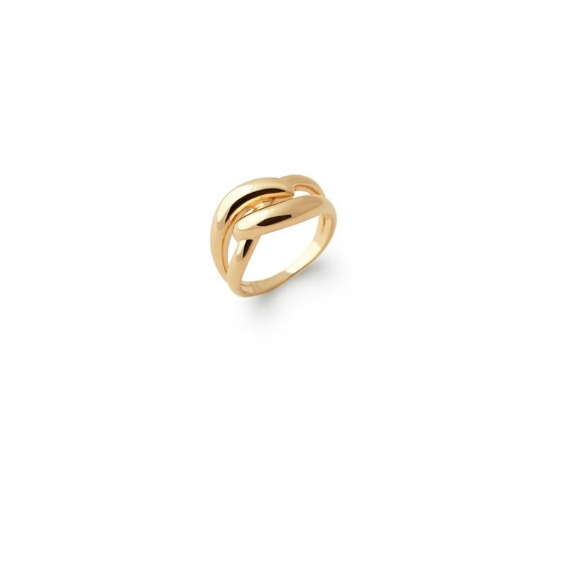Δαχτυλίδι Brass Επίχρυσο 18Κ Oxford Street 2276300