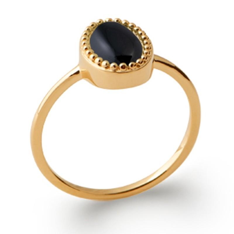 Δαχτυλίδι Brass Επίχρυσο 18Κ Oxford Street 2276907