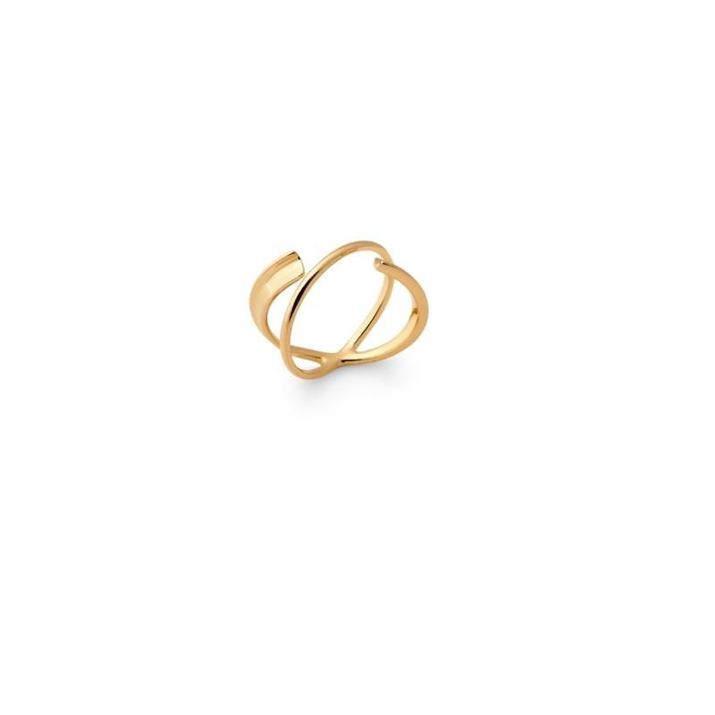 Δαχτυλίδι Brass Επίχρυσο 18Κ Oxford Street 2277900