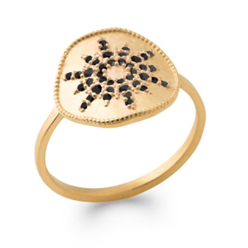 Δαχτυλίδι Brass Επίχρυσο 18Κ Oxford Street  2281307