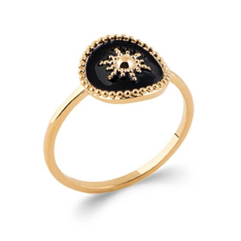 Δαχτυλίδι Brass Επίχρυσο 18Κ Oxford Street 2283507