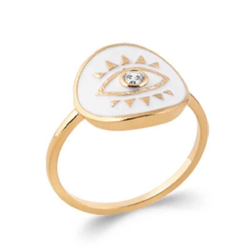 Δαχτυλίδι Brass Επίχρυσο 18Κ Oxford Street 2283610