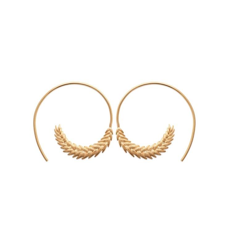 Σκουλαρίκια Brass Επίχρυσα 18Κ  Oxford Street 2626000