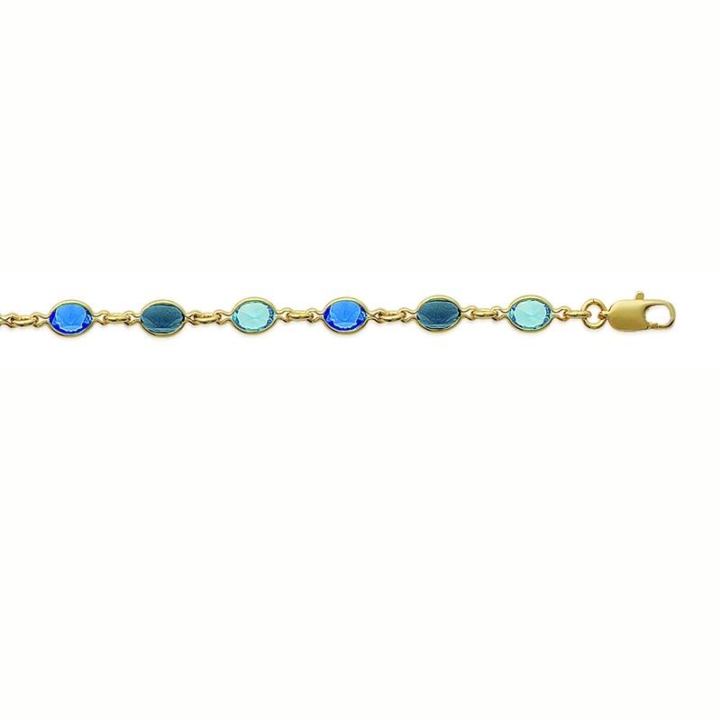 Βραχιόλι Brass Επίχρυσο 18Κ Oxford Street 288081
