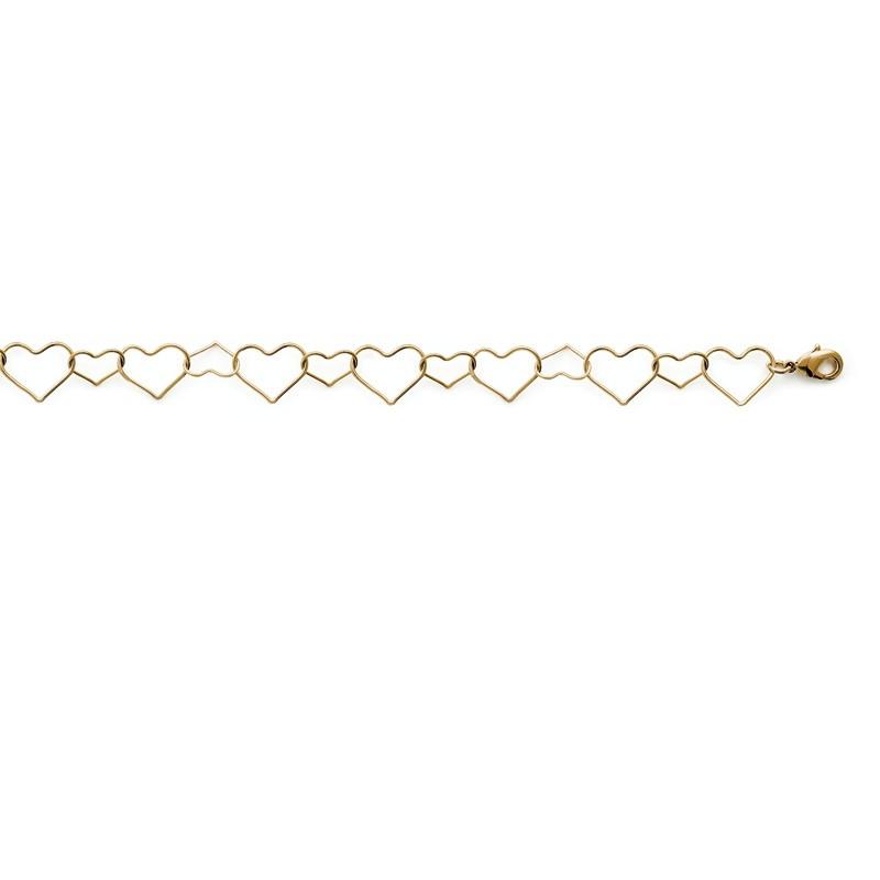 Βραχιόλι Brass Επίχρυσο 18Κ Oxford Street 29066