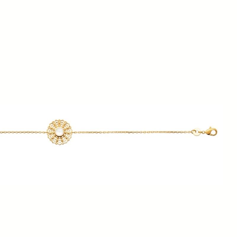 Βραχιόλι Brass Επίχρυσο 18Κ Oxford Street 97315018